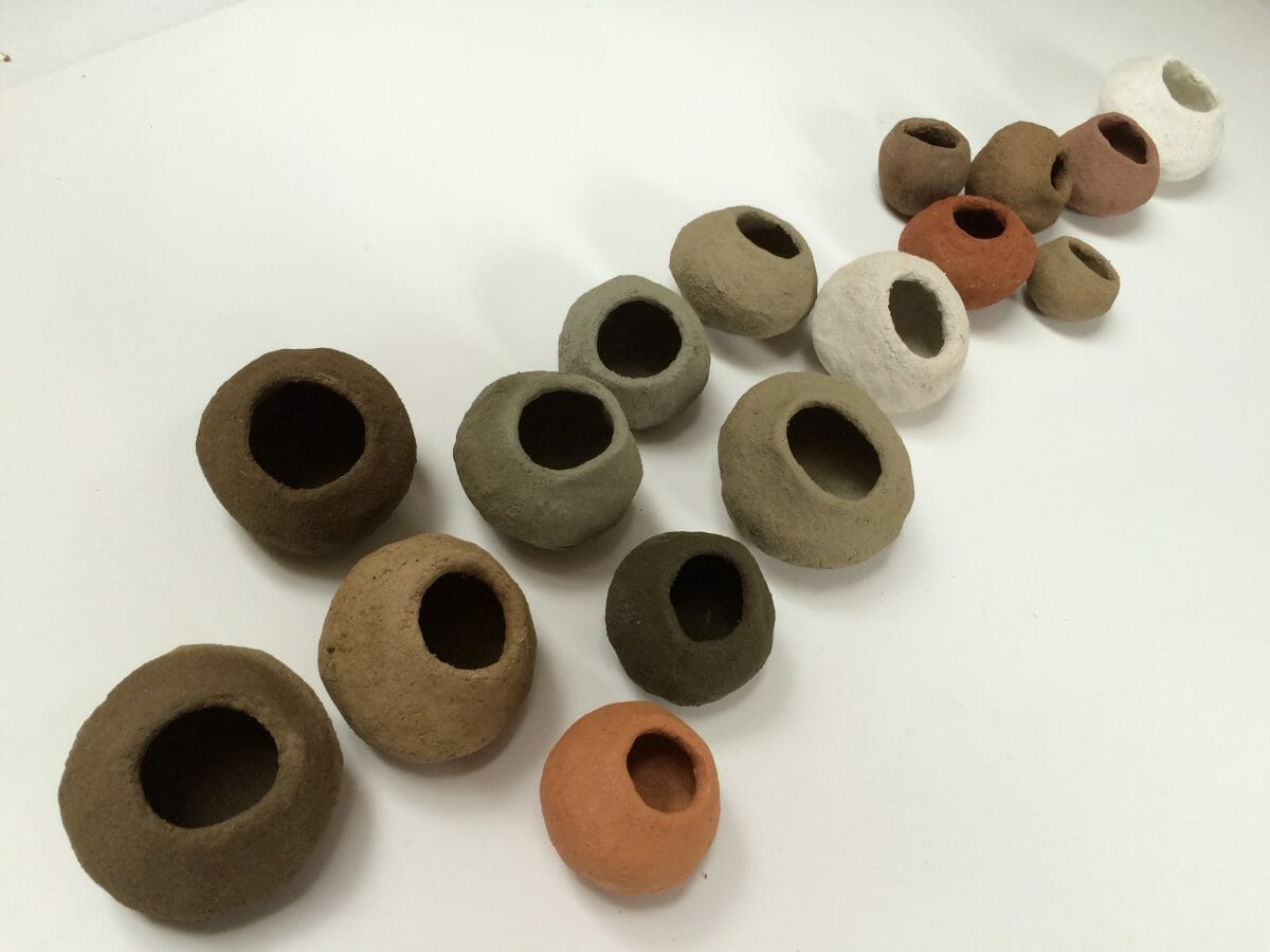 Concerning - pinch pots