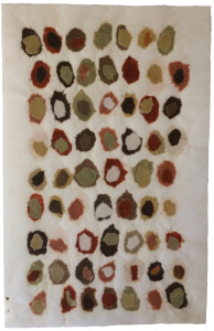 Countless - clay paper collage on mulberry paper